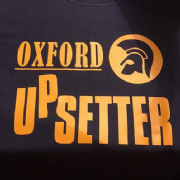 UPSETTER T-SHIRT BLK AND ORANGE